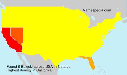 Balecki - USA