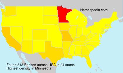 Surname Banken in USA