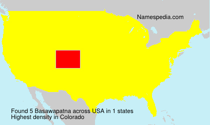 Surname Basawapatna in USA