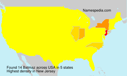 Surname Batmaz in USA