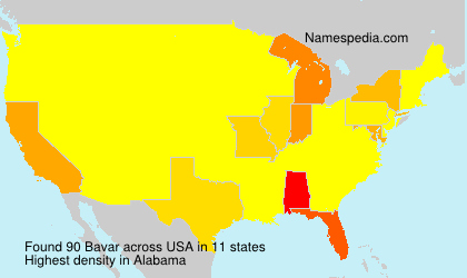 Surname Bavar in USA
