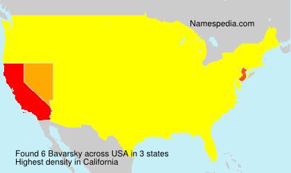 Surname Bavarsky in USA