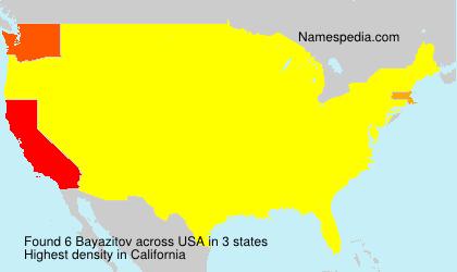 Bayazitov - USA