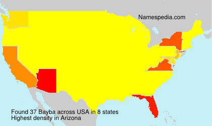 Surname Bayba in USA