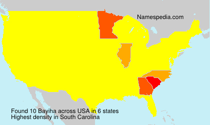 Surname Bayiha in USA
