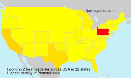 Beamesderfer - USA