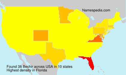 Surname Bechir in USA