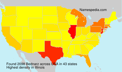 Surname Bednarz in USA