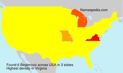 Surname Beglerovic in USA