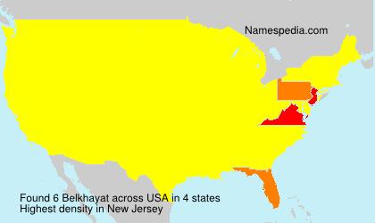 Surname Belkhayat in USA