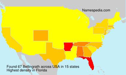 Familiennamen Bellingrath - USA