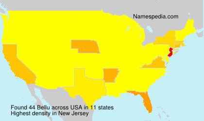 Surname Bellu in USA