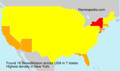 Benediktsson - USA