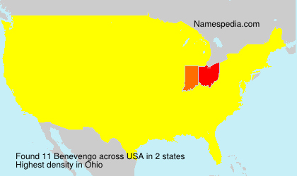 Surname Benevengo in USA