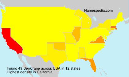 Surname Benkirane in USA