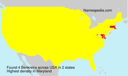 Surname Benkreira in USA