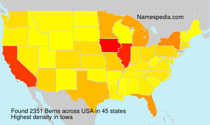 Surname Berns in USA
