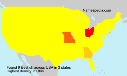 Surname Beshuk in USA
