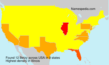 Surname Betzy in USA