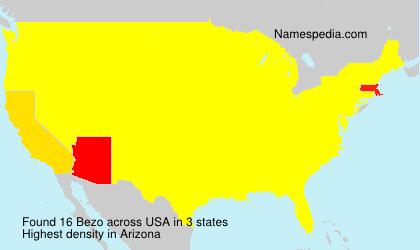 Surname Bezo in USA
