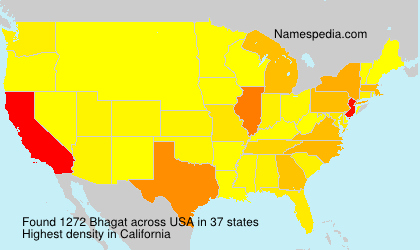 Surname Bhagat in USA