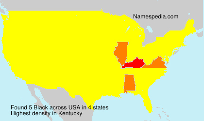 Surname Biack in USA