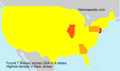 Surname Bialasz in USA