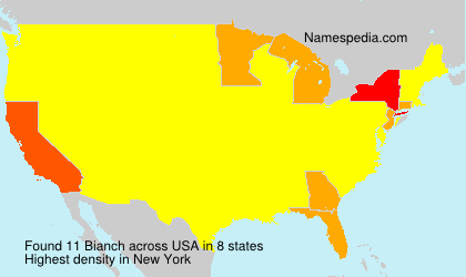 Surname Bianch in USA