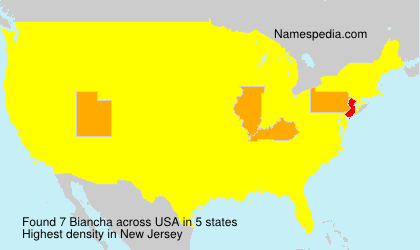 Surname Biancha in USA