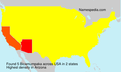 Surname Bicamumpaka in USA
