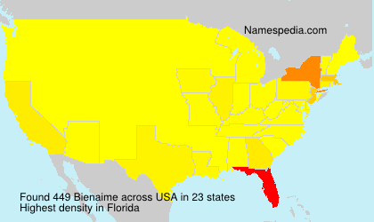 Surname Bienaime in USA