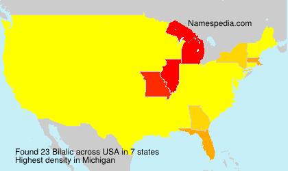 Familiennamen Bilalic - USA