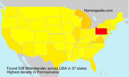 Bittenbender - USA