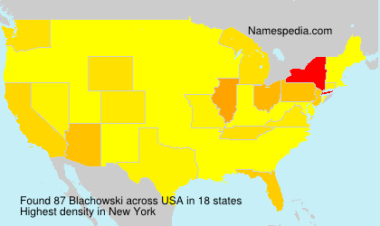 Surname Blachowski in USA