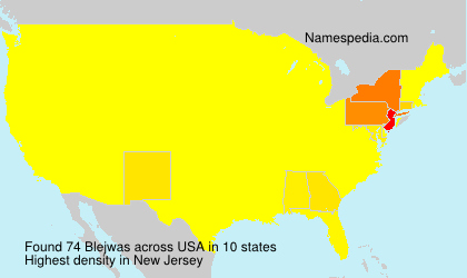 Surname Blejwas in USA