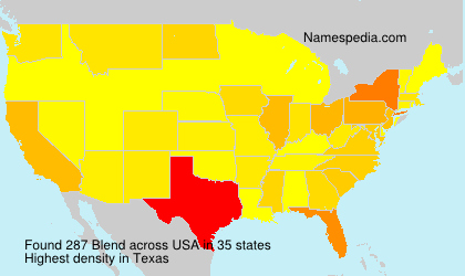 Surname Blend in USA