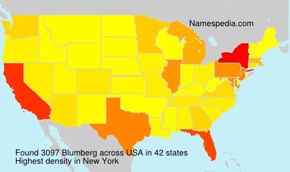Surname Blumberg in USA
