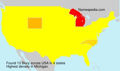 Blury - USA
