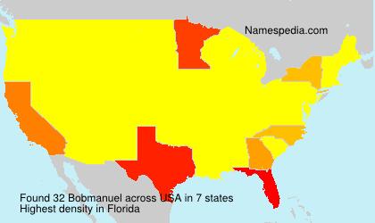 Surname Bobmanuel in USA