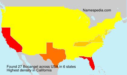 Surname Bocangel in USA