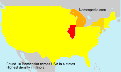 Surname Bochenska in USA