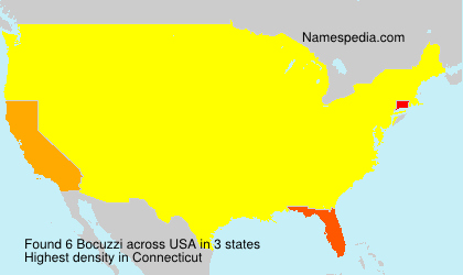 Surname Bocuzzi in USA