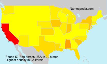 Surname Bog in USA