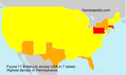Surname Bolibruch in USA