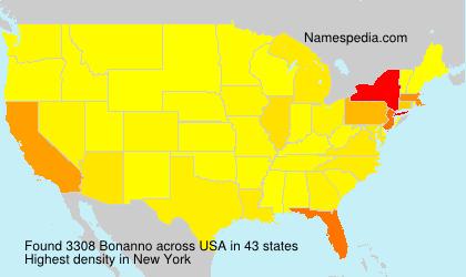 Surname Bonanno in USA