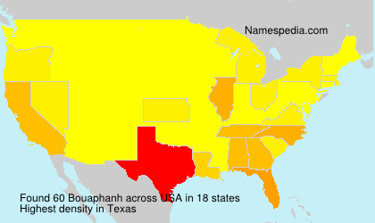Surname Bouaphanh in USA