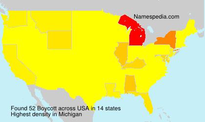 Surname Boycott in USA