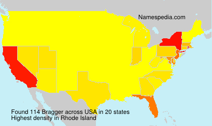 Surname Bragger in USA