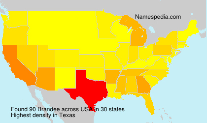 Surname Brandee in USA