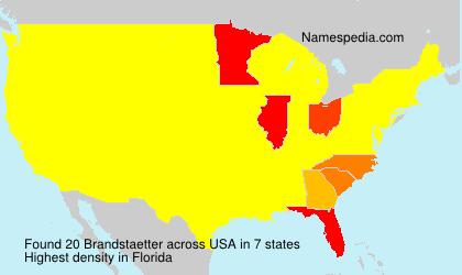 Surname Brandstaetter in USA